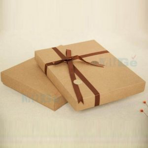2019 Corrugated Paper Type Packaging Summer Clothes Box2