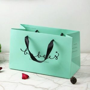 2019 Muge Custom Hot Colorful Paper Bag With Shopping2