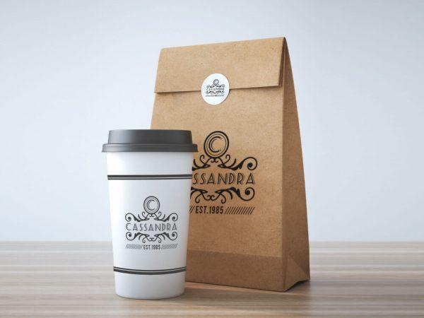 2019 Recycled Takeaway Food Packaging Brown Paper Bag1