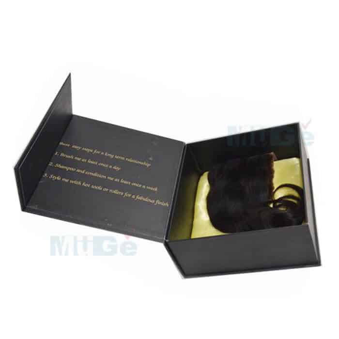 Boekenkast Basic Label.Box Custom Made Luxury Clothing Packaging With Magnetic Flap