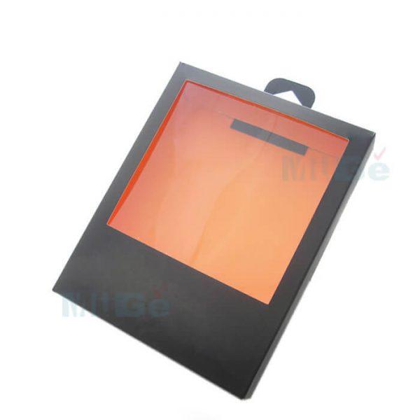 Cheap Kraft Paper Custom Clothing Packaging With Pvc Window3