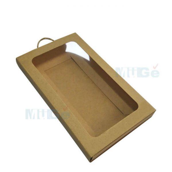 Cheap Kraft Paper Custom Clothing Packaging With Pvc Window4