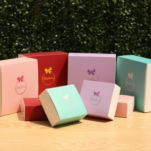 Colorful Printing Small Product Gift Packaging Box1