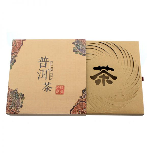Creative Design Cardboard Tea Leaf Packaging Box2