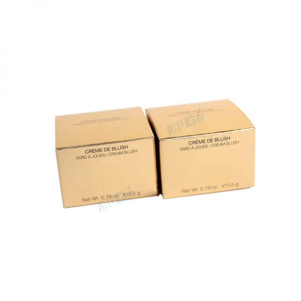 Custom Beautiful Paper Cream Blush Package Box For Sale1