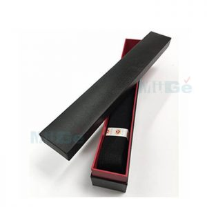 Custom Cardboard Paper Packaging Long Bar Style Belt Box1