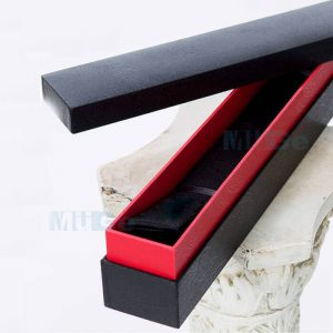 Custom Cardboard Paper Packaging Long Bar Style Belt Box2
