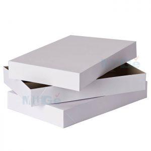 Custom Cardboard Paper Packaging Write Shirt Box1