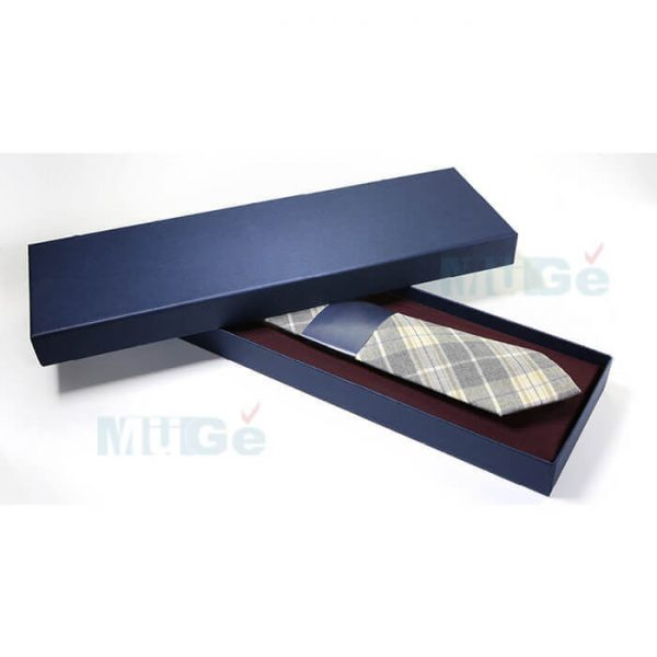 Custom Classic Coated Paper Packaging Bowtie Male Apparel Box1