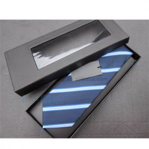 Custom Classic Coated Paper Packaging Bowtie Male Apparel Box2
