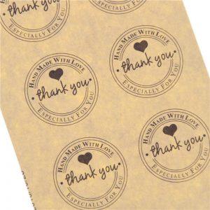 Custom Creative Printed Label Packaging Sticker Label1