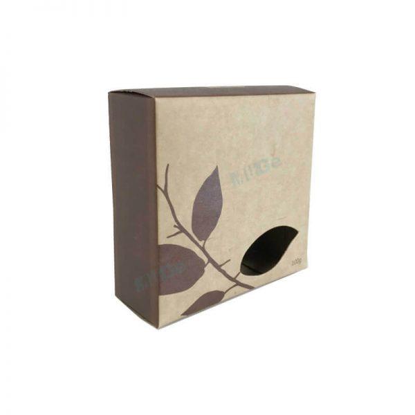 Custom Eco Friendly Kraft Paper Soap Box Packaging1