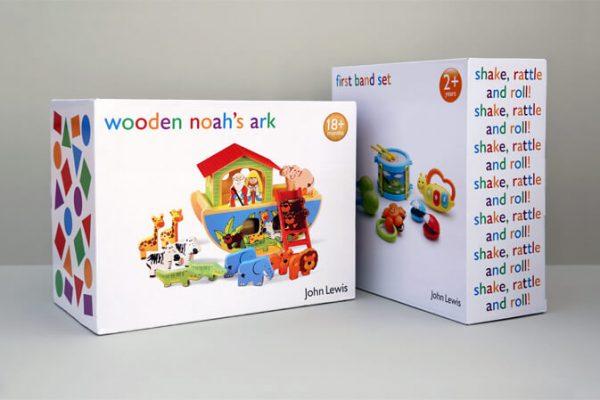 Custom Fancy Printed Coated Paper Kid Toy Packaging Box3