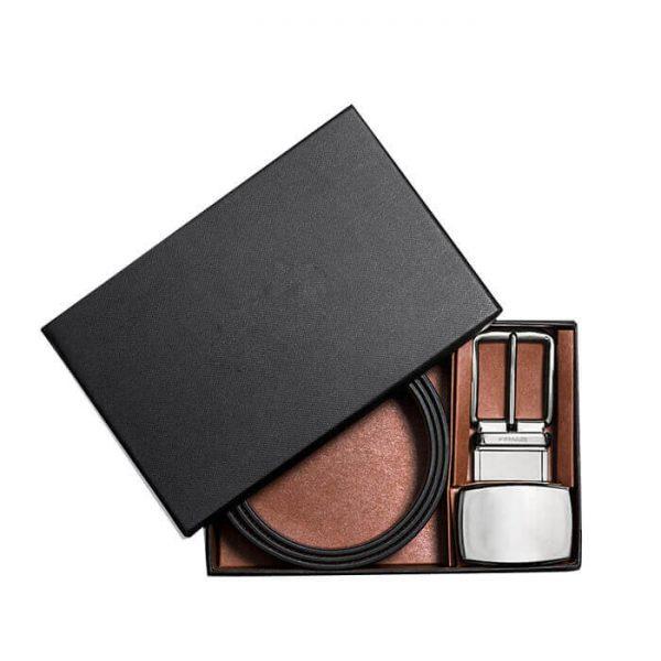 Custom Gift Rigid Cardboard Paper Belt Box Packaging3