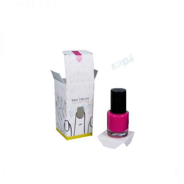 Custom Logo Nail Polish Paper Packaging Box With Window1