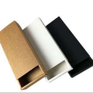 Custom Luxury Black Rigid Paper Tie Set Apparel Packaging Box1