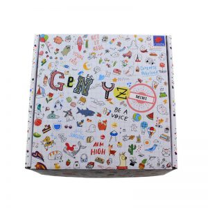 Custom Printing Cardboard Box With Children's Toy Packaging1