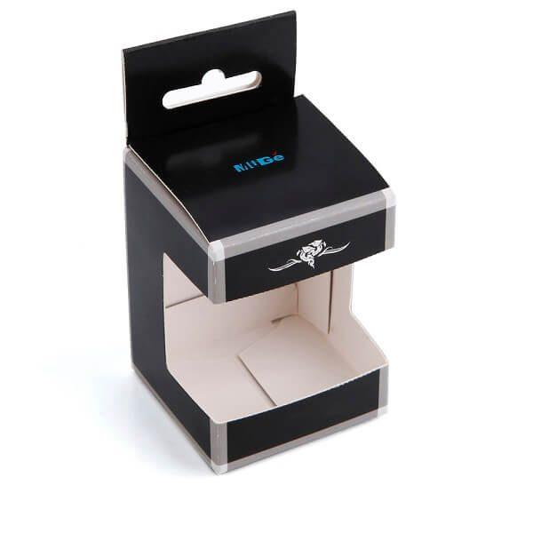 Custom Printing Digital Watch Packaging Box With Pvc Window1