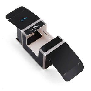 Custom Printing Digital Watch Packaging Box With Pvc Window2