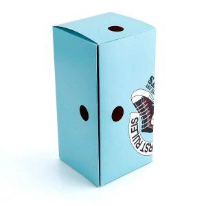 Custom Summer Luxury Shoe Box Recycle Paper Packaging2