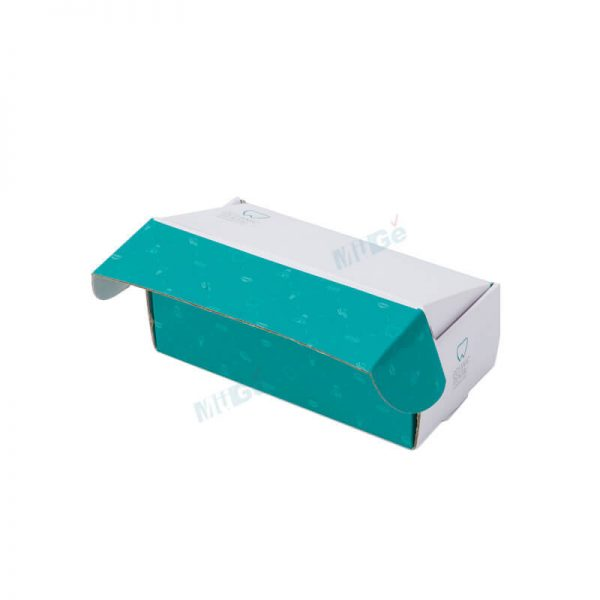 Customized Logo Foldable Paper Carton Shoe Storage Box1