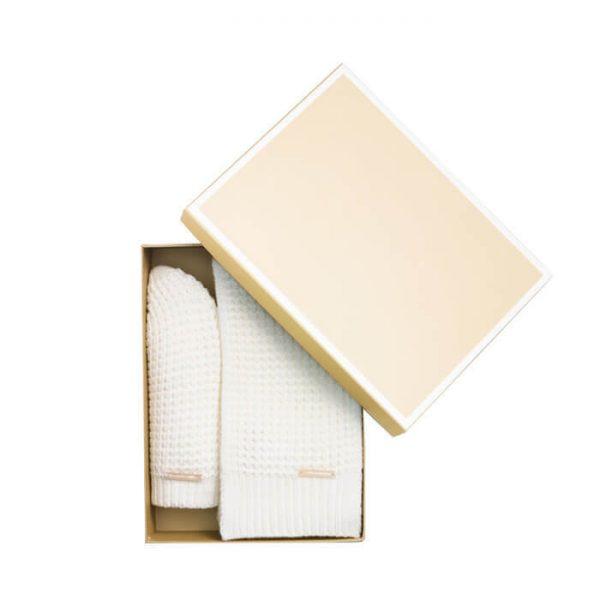 Customized Luxury Gift Kraft Paper Handkerchief Packaging Box1