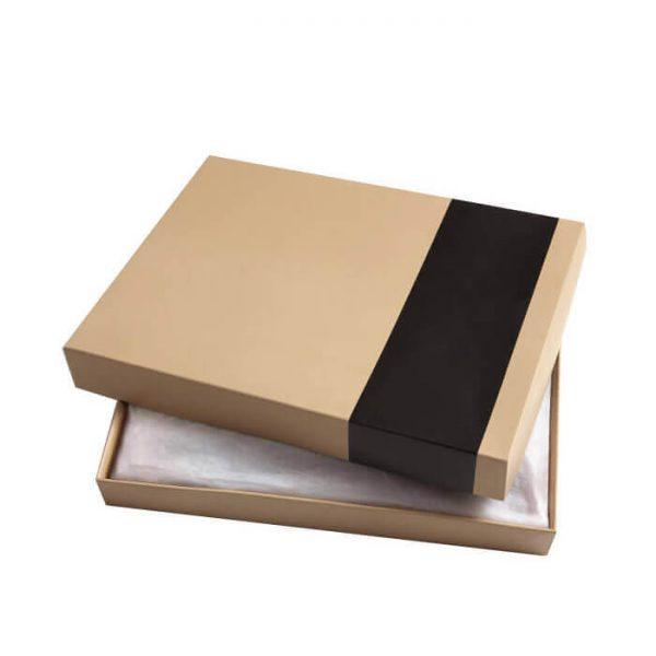Customized Luxury Gift Kraft Paper Handkerchief Packaging Box2