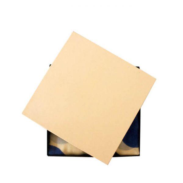 Customized Luxury Gift Kraft Paper Handkerchief Packaging Box3