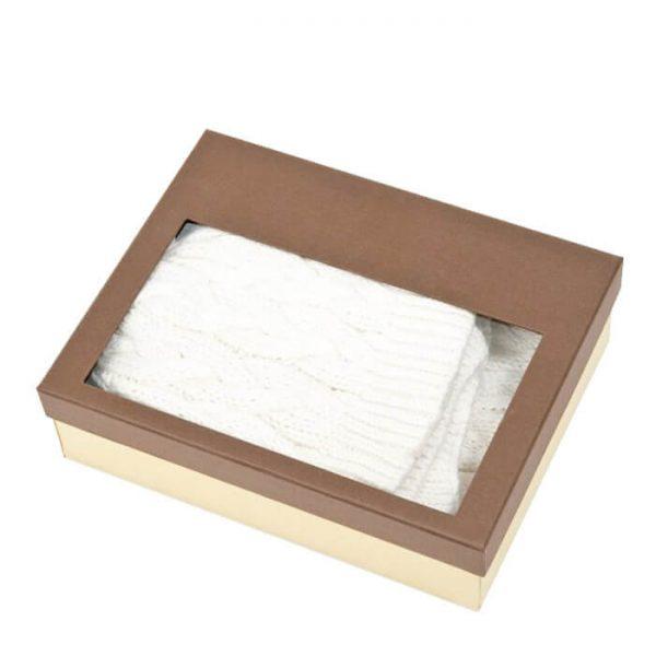 Customized Luxury Gift Kraft Paper Handkerchief Packaging Box4