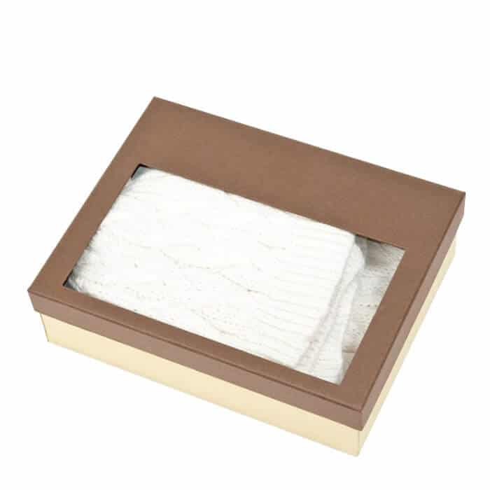 Kraft Paper Handkerchief Packaging Box