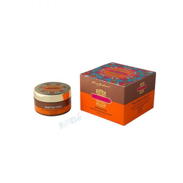Customized Printed Foldable Paper Cosmetic Eye Cream Box3