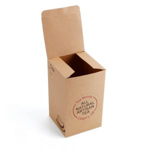 Eco-Friendly Brown Kraft Flexo Printed Daily Necessities Paper Box2