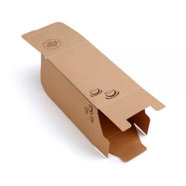 Eco-Friendly Brown Kraft Flexo Printed Daily Necessities Paper Box3