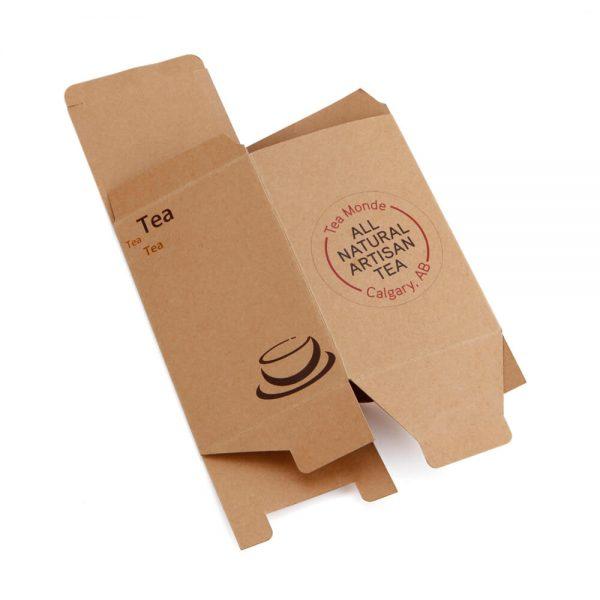 Eco-Friendly Brown Kraft Flexo Printed Daily Necessities Paper Box4