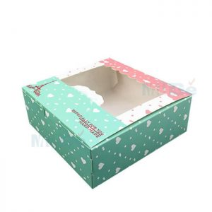 Factory Cheap Custom Foldable Baby Clothes Packaging With Window1