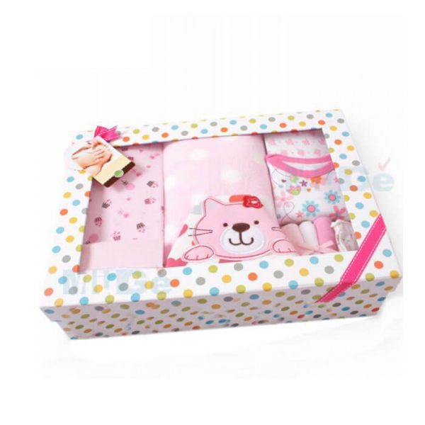 Factory Cheap Custom Foldable Baby Clothes Packaging With Window3