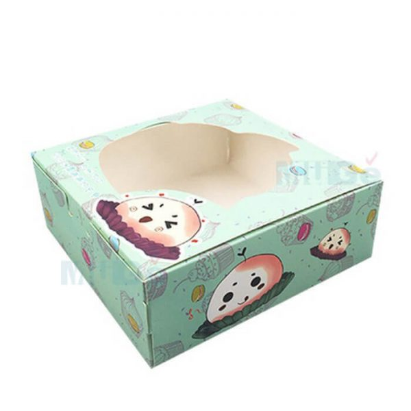 Factory Cheap Custom Foldable Baby Clothes Packaging With Window4