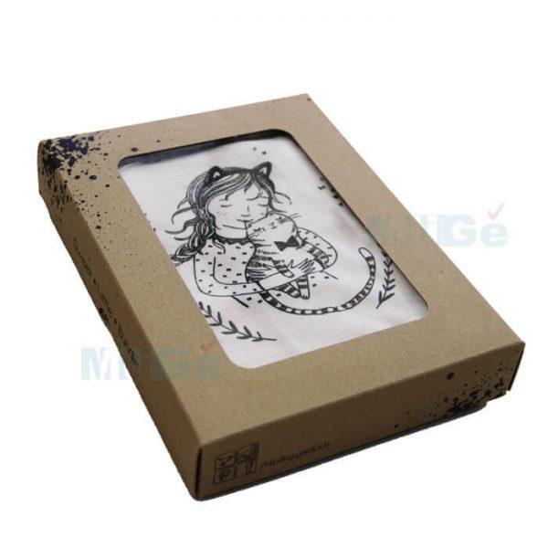 Factory Printed Paper Cardboard Luxury Custom Apparel Packaging3
