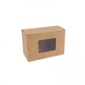 Factory Recycled Brown Kraft Paper Soap Box Packaging1