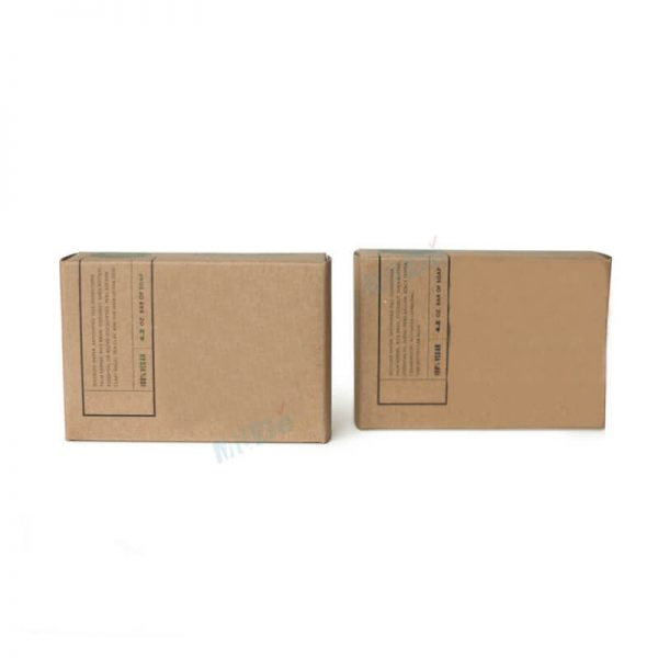 Factory Recycled Brown Kraft Paper Soap Box Packaging2