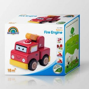 Fancy Printed Corrugated Paper Packaging Cars Toys Pit Box1