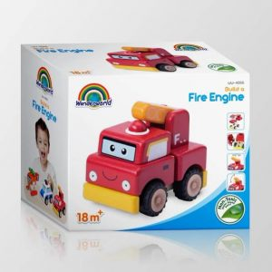 Fancy Printed Corrugated Paper Packaging Cars Toys Pit Box2