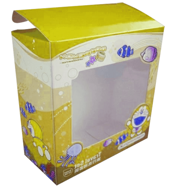 Fancy Printed Corrugated Paper Packaging Plush Toys Box For Girls4