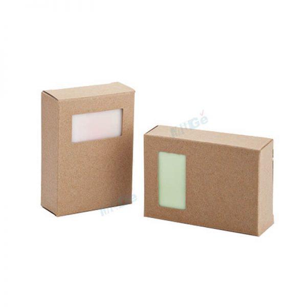 Free Sample Cosmetic Natural Handmade Soap Packaging4