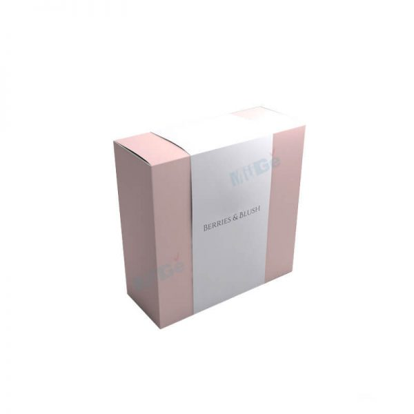 Free Sample Customzied Paper Blush Box With Sleeve2