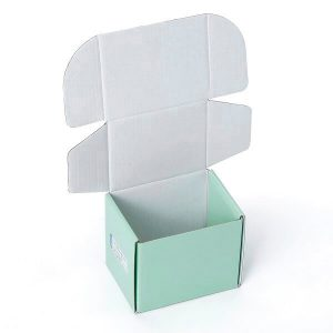 Gift Industrial Use Tucker Glossy Lamination Corrugated Packaging Box1