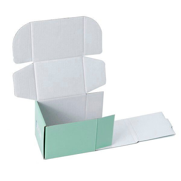 Gift Industrial Use Tucker Glossy Lamination Corrugated Packaging Box3