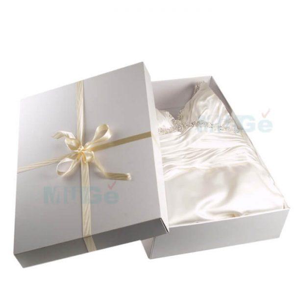 High Quality Customized Luxury Gift Paper Wedding Dress Box2