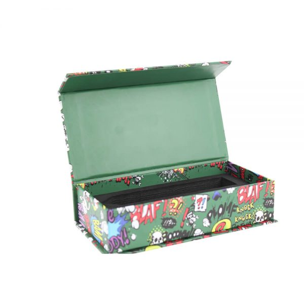 High Quality Luxury Magnetic Closure Vape Pen Packaging Box3