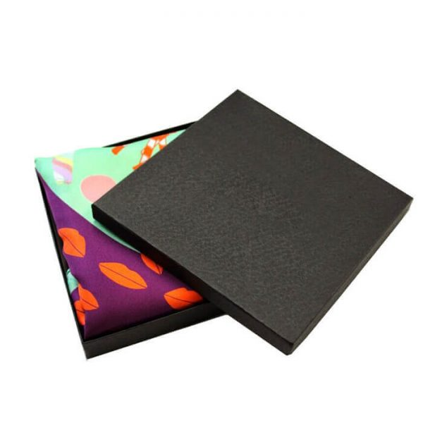 High Quality Luxury Paper Packaging Scarf Gift Box With Lid And Bottom1